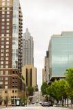 Im Stadtzentrum gelegenes Atlanta, Georgia USA stockbild
