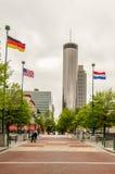 Im Stadtzentrum gelegenes Atlanta, Georgia USA stockbilder