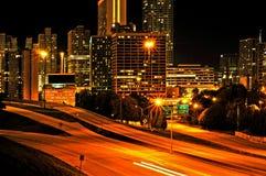 Im Stadtzentrum gelegenes Atlanta, Vereinigte Staaten Lizenzfreies Stockbild