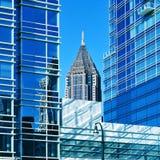 Im Stadtzentrum gelegenes Atlanta, Vereinigte Staaten stockfotos