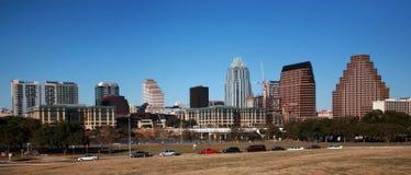 Im Stadtzentrum gelegenes Austin lizenzfreie stockbilder