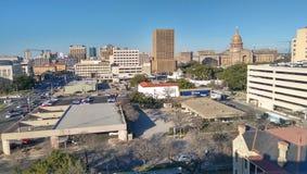Im Stadtzentrum gelegenes Austin Stockbild