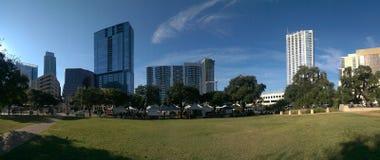 Im Stadtzentrum gelegenes Austin Stockfoto