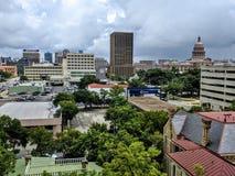 Im Stadtzentrum gelegenes Austin TX Stockfotos