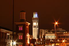 Im Stadtzentrum gelegenes Baltimore Lizenzfreies Stockbild
