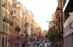 Im Stadtzentrum gelegenes Beirut Lizenzfreie Stockfotografie