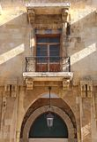 Im Stadtzentrum gelegenes Beirut-Architektursonderkommando Stockfotos