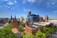 Im Stadtzentrum gelegenes Birmingham, Alabama Stockbilder