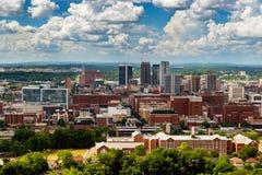 Im Stadtzentrum gelegenes Birmingham, Alabama Stockbild