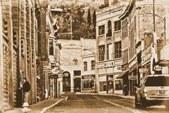 Im Stadtzentrum gelegenes Bisbee, Az Stockbilder