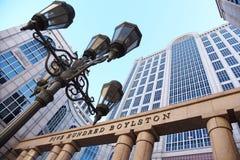 Im Stadtzentrum gelegenes Boston Lizenzfreies Stockbild