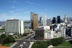 Im Stadtzentrum gelegenes Buenos Aires Lizenzfreies Stockbild
