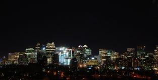 Im Stadtzentrum gelegenes Calgary Stockfoto