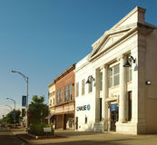 Im Stadtzentrum gelegenes Canandaigua, New York Lizenzfreies Stockbild