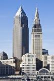 Im Stadtzentrum gelegenes Cleveland lizenzfreies stockfoto
