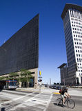 Im Stadtzentrum gelegenes Cleveland, Ohio Lizenzfreies Stockfoto