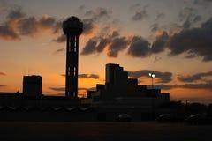 Im Stadtzentrum gelegenes Dallas Lizenzfreie Stockbilder