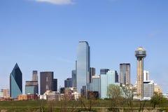 Im Stadtzentrum gelegenes Dallas, Texas Lizenzfreies Stockbild