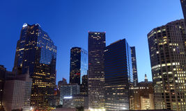 Im Stadtzentrum gelegenes Dallas, Texas stockbild
