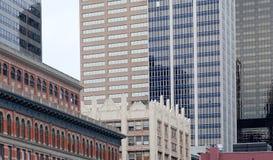 Im Stadtzentrum gelegenes Denver Lizenzfreie Stockbilder