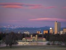 Im Stadtzentrum gelegenes Denver Lizenzfreie Stockfotografie