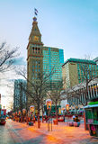 Im Stadtzentrum gelegenes Denver, Kolorado Lizenzfreie Stockfotografie