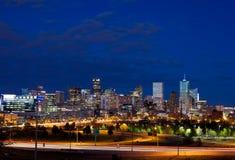 Im Stadtzentrum gelegenes Denver, Kolorado Stockfoto