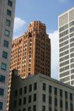 Im Stadtzentrum gelegenes Detroit Stockbilder