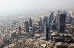 Im Stadtzentrum gelegenes Dubai Stockfotos