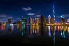 Im Stadtzentrum gelegenes Dubai Lizenzfreie Stockfotografie