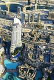 Im Stadtzentrum gelegenes Dubai Lizenzfreies Stockbild