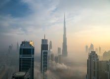 Im Stadtzentrum gelegenes Dubai Stockfotografie
