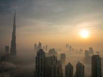 Im Stadtzentrum gelegenes Dubai Lizenzfreies Stockfoto