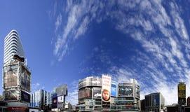 Im Stadtzentrum gelegenes Dundas Quadrat Torontos Lizenzfreie Stockfotos