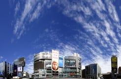 Im Stadtzentrum gelegenes Dundas Quadrat Torontos Stockbilder