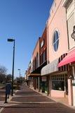 Im Stadtzentrum gelegenes Einkaufen Stockfoto
