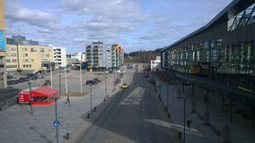 Im Stadtzentrum gelegenes Espoo stockbild