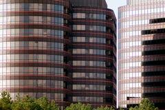 Im Stadtzentrum gelegenes Führungsstabgebäude Stockfoto