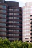 Im Stadtzentrum gelegenes Führungsstabgebäude Stockfotos