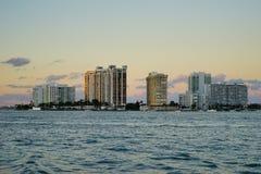 Im Stadtzentrum gelegenes Gebäude Miamis Stockfoto