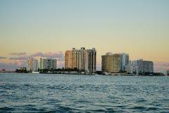 Im Stadtzentrum gelegenes Gebäude Miamis Lizenzfreies Stockfoto