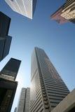 Im Stadtzentrum gelegenes Geschäftsgebiet Stockfoto
