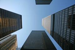 Im Stadtzentrum gelegenes Geschäftsgebiet Stockbilder