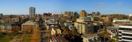 Im Stadtzentrum gelegenes Halifax Lizenzfreie Stockfotos