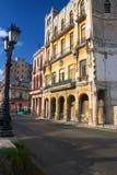 Im Stadtzentrum gelegenes Havana Stockfotografie