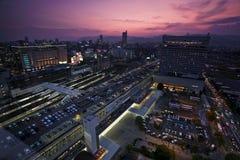 Im Stadtzentrum gelegenes Hiroschima Lizenzfreie Stockfotos