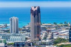 Im Stadtzentrum gelegenes Honolulu Lizenzfreies Stockfoto