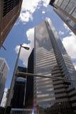 Im Stadtzentrum gelegenes Houston Lizenzfreie Stockfotografie