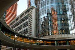 Im Stadtzentrum gelegenes Houston Lizenzfreies Stockbild