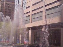 Im Stadtzentrum gelegenes Houston stockfotografie